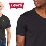 Camiseta de manga corta Levi's Orig Hm Vneck para hombre barata en Amazon