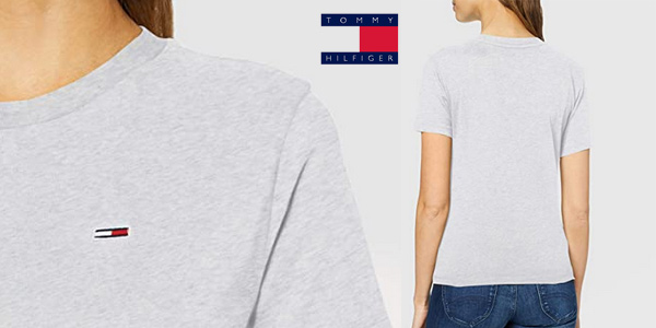 Camiseta de manga corta Tommy Hilfiger Classics para mujer barata