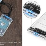 "Carcasa externa Posugear disco duro 2.5"" USB 3.0 barata en Amazon"