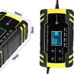 Cargador de Batería Coche KKmoon ZXY-J30 barato en Amazon