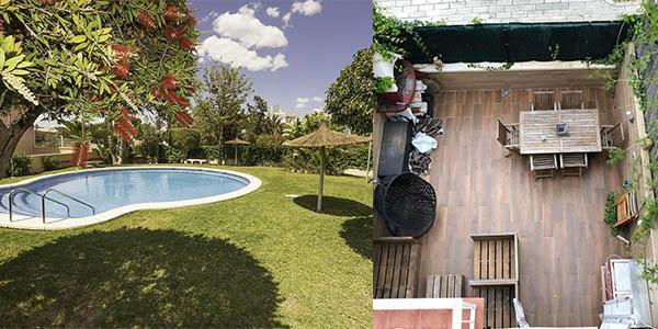 casa con piscina en el Cabo de las Huertas Alicante barata