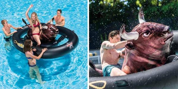 Centro juegos hinchable Toro flotante (Intex 56280EU) Inflatabull chollo en Amazon