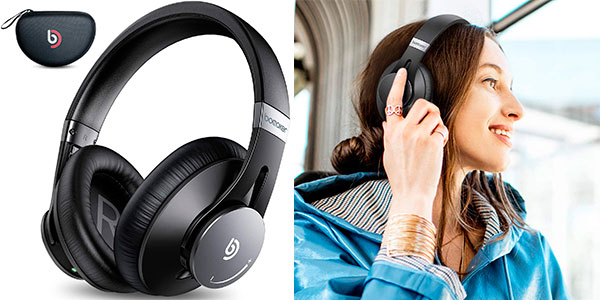 Chollo Auriculares Bomaker Dolphin Bluetooth 5.0 con cancelación de ruido y micro