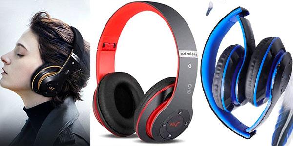 Chollo Auriculares cerrados inalámbricos 6S con Bluetooth 5.0