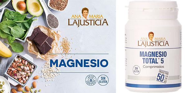 Chollo Bote de Magnesio Total 5 Ana Maria Lajusticia de 100 comprimidos