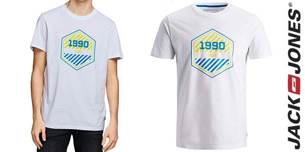 Chollo Camiseta Jack & Jones 1990 slim para hombre