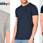 Chollo Camiseta Superdry Orange Label Vintage para hombre
