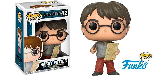 Chollo Figura Funko Harry Potter con el Mapa del Merodeador
