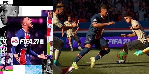 Reserva FIFA 21 para PC en oferta