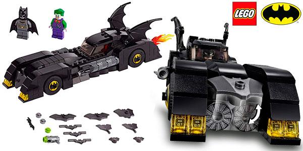 Chollo Set Batmóvil de LEGO con 2 minifiguras