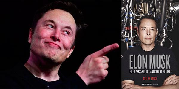 """Chollo Libro """"Elon Musk: El empresario que anticipa el futuro"""" en versión Kindle"""