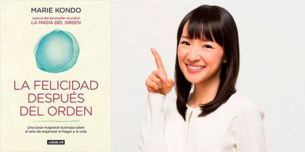 """Chollo Libro """"La felicidad después del orden"""" de Marie Kondo en formato Kindle"""