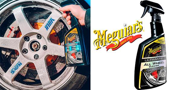 Chollo Limpiallantas Meguiar's Ultimate All Wheel Cleaner de 710 ml