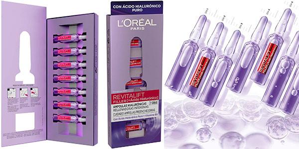 Chollo Pack de 7 ampollas hialurónicas Revitalift Filler de L´Oréal Paris