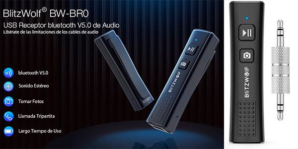 Chollo Receptor Bluetooth 5.0 BlitzWolf BW-BR0