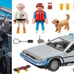 Chollo Set Delorean de Regreso al Futuro de Playmobil con 3 figuras