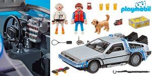 Chollo Set Delorean de Regreso al Futuro de Playmobil con 3 figuras