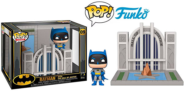 Chollo Set Batman & Hall of Justice de Funko Pop