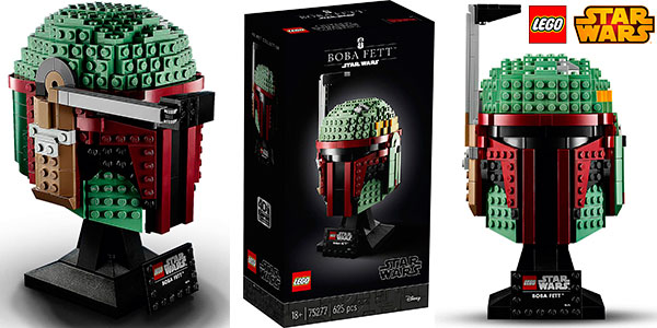 Chollo Set Casco de Boba Fett de LEGO Star Wars