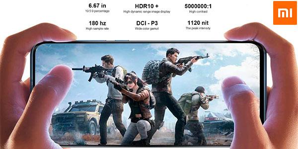 """Xiaomi Mi 10 de 6,67"""" con 5G, 8 GB RAM y 128 GB ROM en oferta"""