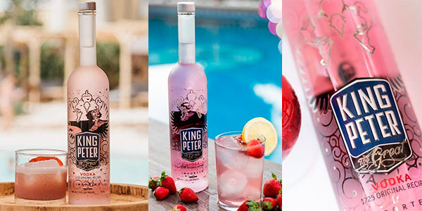Chollo Vodka rosé King Peter The Great de 3 litros
