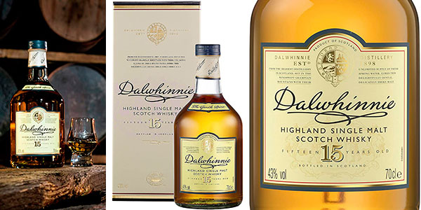 Chollo Whisky Dalwhinnie 15 Años de 700 ml