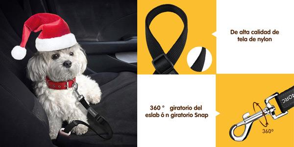 Cinturón de seguridad de coche Omorc 2 para perros (versión mejorada) chollo en Amazon