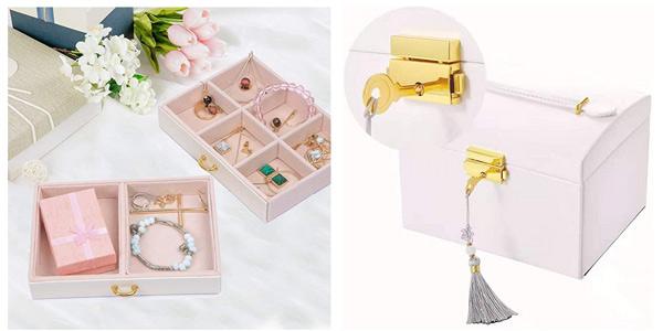 Joyero Beauty Case E-Manis con compartimentos y cajones chollo en Amazon