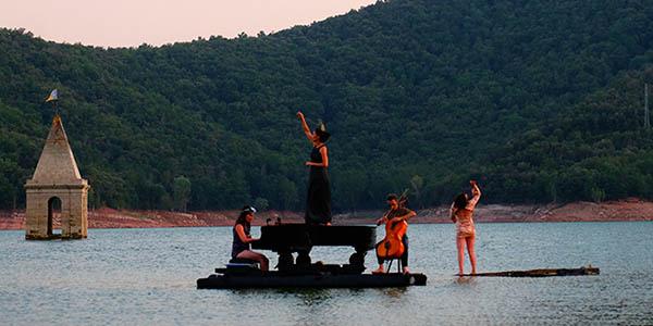 conciertos de piano sobre el agua escapada a Lerate barata