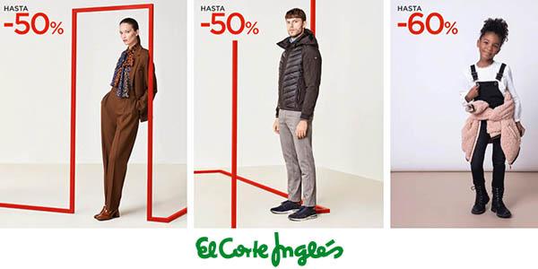 El Corte Inglés segundas rebajas moda primeras marcas enero 2021