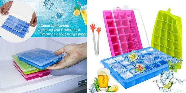 cubiteras de hielo de silicona Tedgem baratas