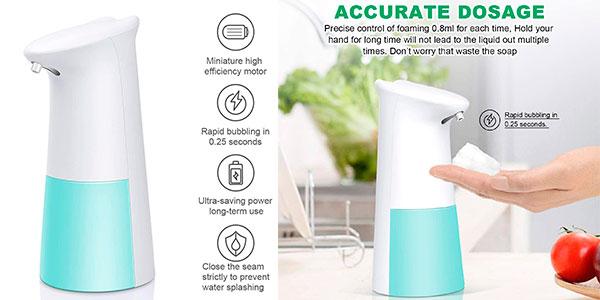 Dispensador automático de jabón Teseu de 250 ml barato