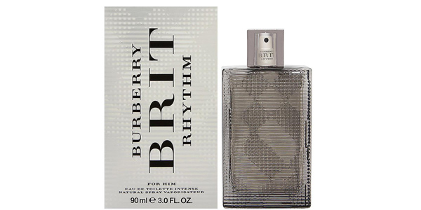 Eau de Toilette Burberry Brit Rhythm Intense para hombre de 90 ml barata en Amazon