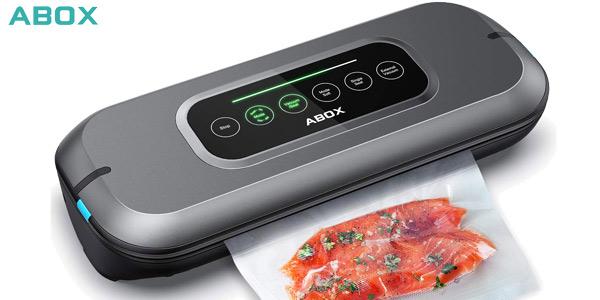 Envasadora al vacío automática Abox V66 con pantalla LED barata en Amazon