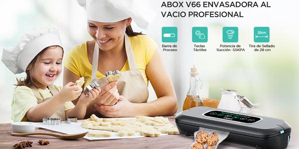 Envasadora al vacío automática Abox V66 con pantalla LED chollazo en Amazon