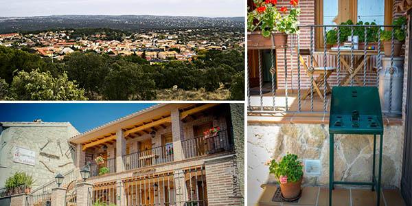 escapada con encanto rural a Navalagamella en Madrid con alojamiento económico