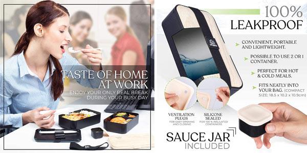 Fiambrera Umami Lunch Box Premium chollo en Amazon
