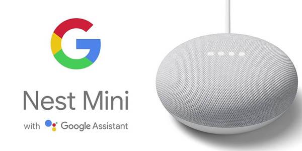 Altavoz inteligente Google Nest Mini 2ª Generación