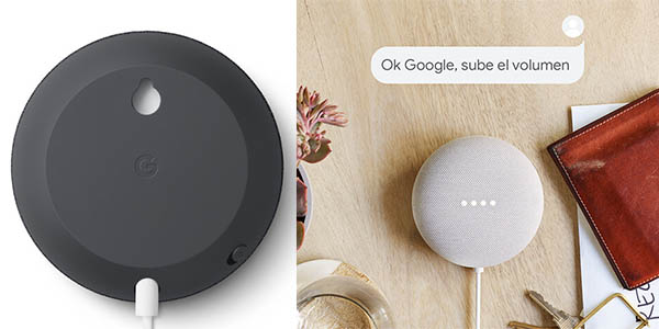 Altavoz inteligente Google Nest Mini barato