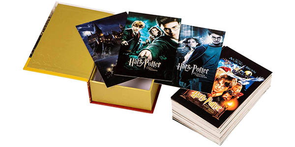 Caja de 100 postales de Harry Potter