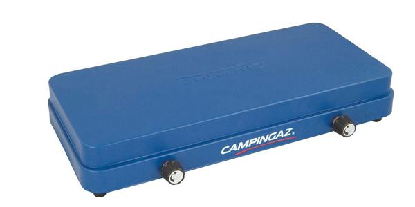 Hornillo de camping compacto Campingaz con tapa chollazo en Amazon