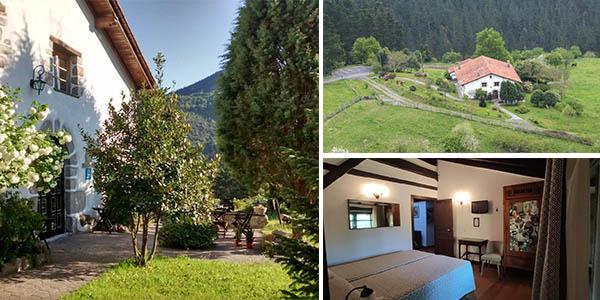 Hotel rural Natxiondo chollo alojamiento con encanto en Lekeitio Euskadi