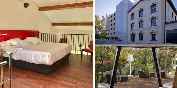 Hotel Tximista chollo alojamiento en el Embalse de Alloz para ver conciertos Piano du Lac
