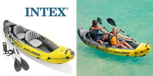 Intex Kayak hinchable Explorer K2 oferta