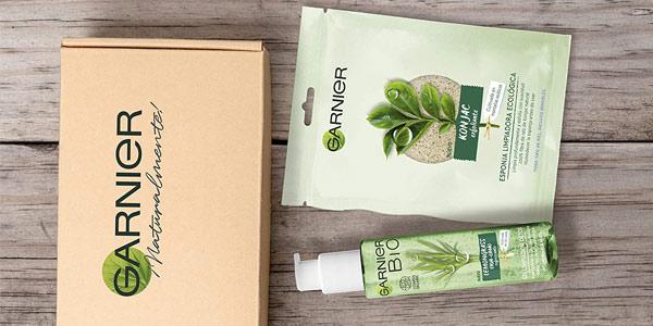 Kit Limpiador Garnier BIO con Gel Detox Lemongrass con Agua de Flor de Aciano Ecológica barato en Amazon