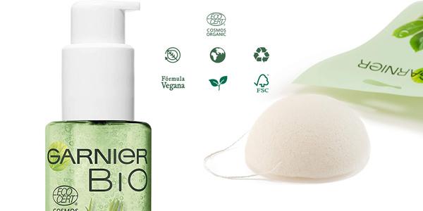 Kit Limpiador Garnier BIO con Gel Detox Lemongrass con Agua de Flor de Aciano Ecológica chollo en Amazon