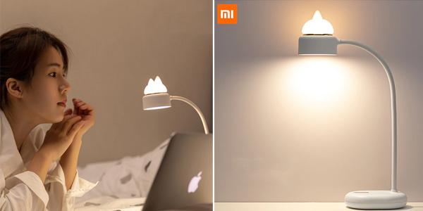 Lámpara LED Xiaomi Mijia 3Life + Luz nocturna de gato barata en AliExpress