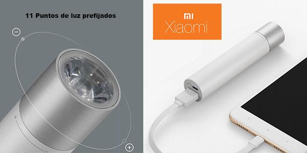 Linterna LED Xiaomi con batería