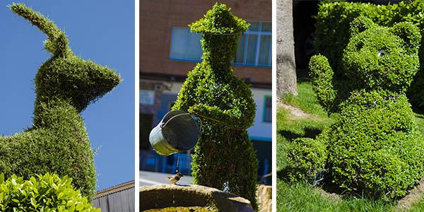 Losar de la Vera esculturas vegetales para hacer una escapada a precio de chollo