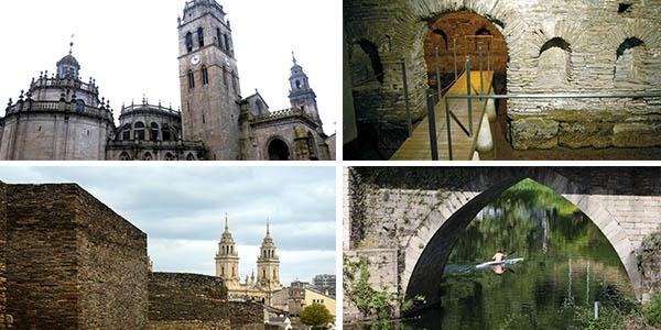Lugo apartamentos céntricos baratos para hacer ruta por Galicia